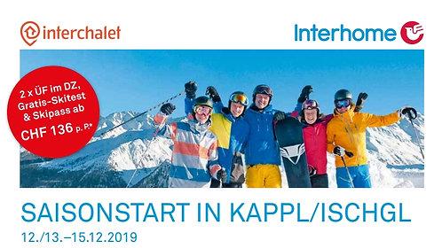 Ski opening Kappl