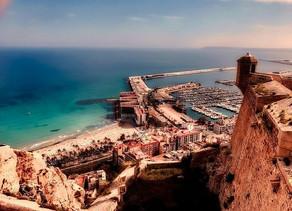 VR 360 video - Castilo de Sant Barbara, Alicante Španělsko