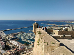 VR 360 video - Castillo de Santa Bárbara, Alicante