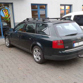 Audi A6 combi, přestavba LPG