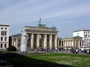 VR 360 video - Braniborská brána, Berlín