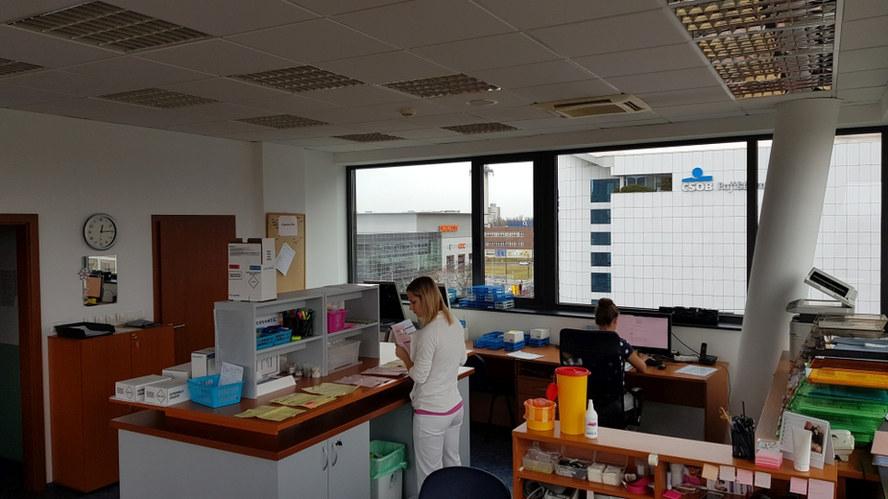 CCR CZECH Pardubice, laboratoř