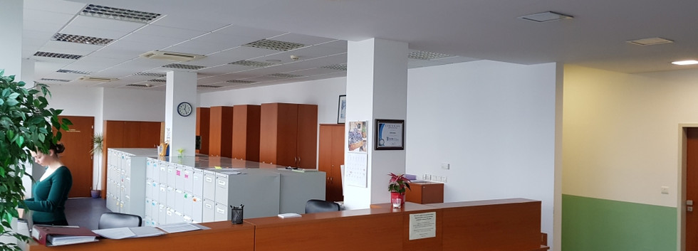 Klinika CCR Pardubice - recepce