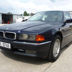 BMW 740i, 4.4, 210kW, r.v. 2001 přestavba LPG