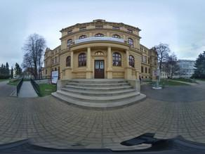 VR 360° video - Jihočeské muzeum, stálá expozice Příběh města České Budějovice