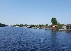 VR 360 video - jezero Vinkeveense Plassen Holandsko