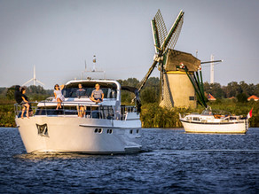VR 360 video - Dovolená na lodi v Holandsku