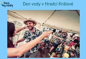 Den Vody 2019, barman Tomáš Trejbal