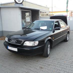 Audi 100, přestavba na LPG