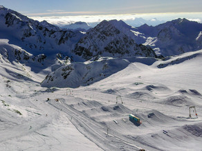 VR 360 video - Ski areál Stubai