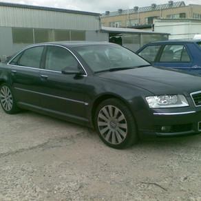 Audi A8, přestavba na LPG