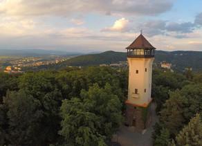 VR 360 video - Rozhledna Diana, Karlovy Vary