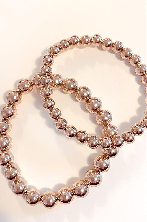Smooth Layering Bracelet set