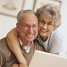 Beautiful Smiles Dentistry Roseville CA Happy Elderly Couple.
