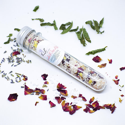 Vanilla Rose Milk Bath Salt