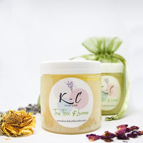 Tea Tree & Lemon Sugar Scrub