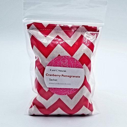 Cranberry Pomegranate Sachet