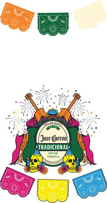 "Gonzalez Kelvin, Festival Bottle Label, Digital Illustration, 10.64' x 11.68' x 11.68"" 2021"
