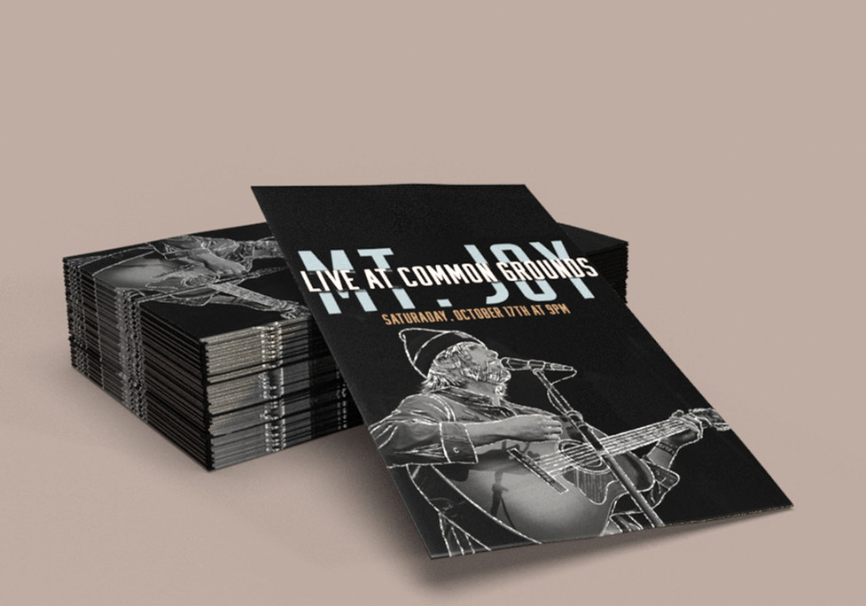 Mt. Joy Live at Common Grounds, Adobe Creative Suite, 2021