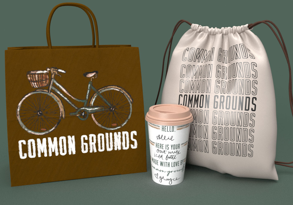 Common Grounds On the Go, Adobe Creative Suite, 2021