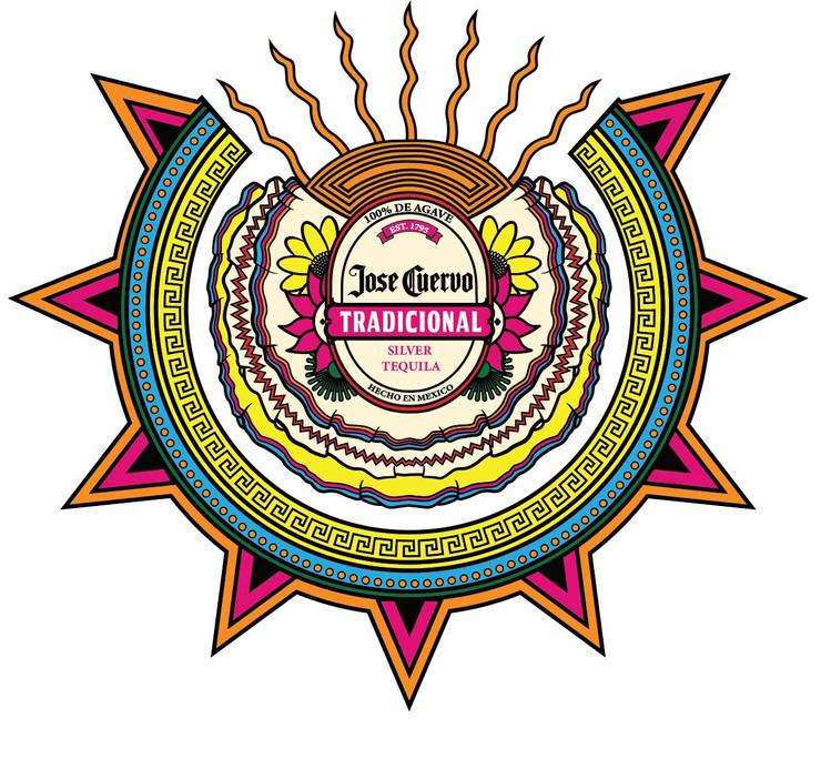 "Gonzalez Kelvin, Jarabe Bottle Label, Digital Illustration, 7.65' x 8.79' x 8.79"" 2020"