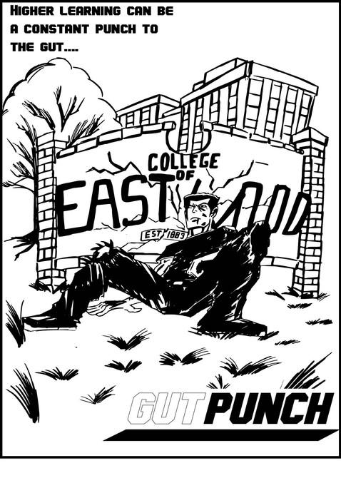 Gut Punch Poster 1 – 11 X 17 (2021)