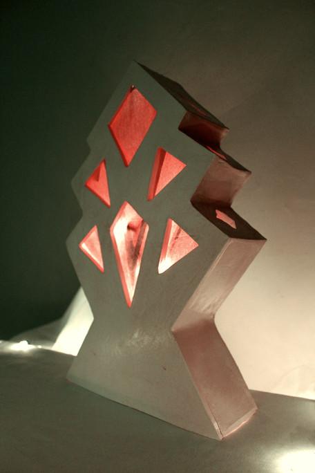 """mixed media sculpture, 10"""" x 3"""" x 13"""", 2021"""