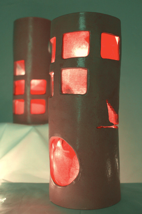 """mixed media sculpture, 5"""" x 12"""", 2021"""