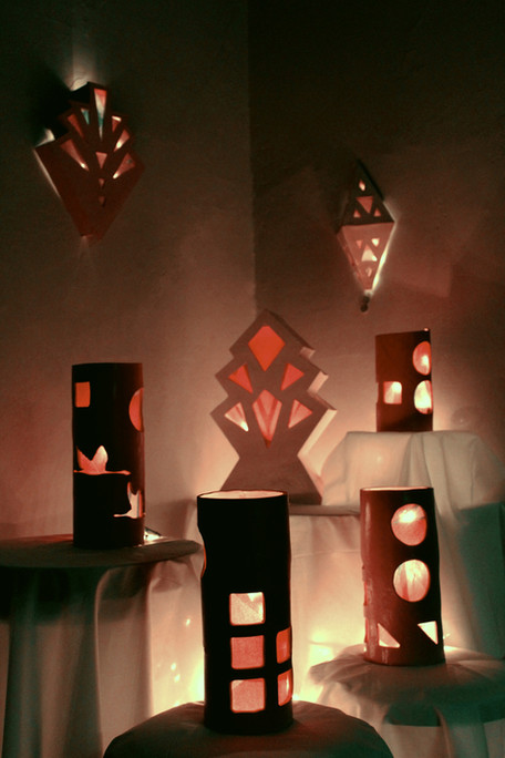 mixed media sculpture, installation shot, 2021