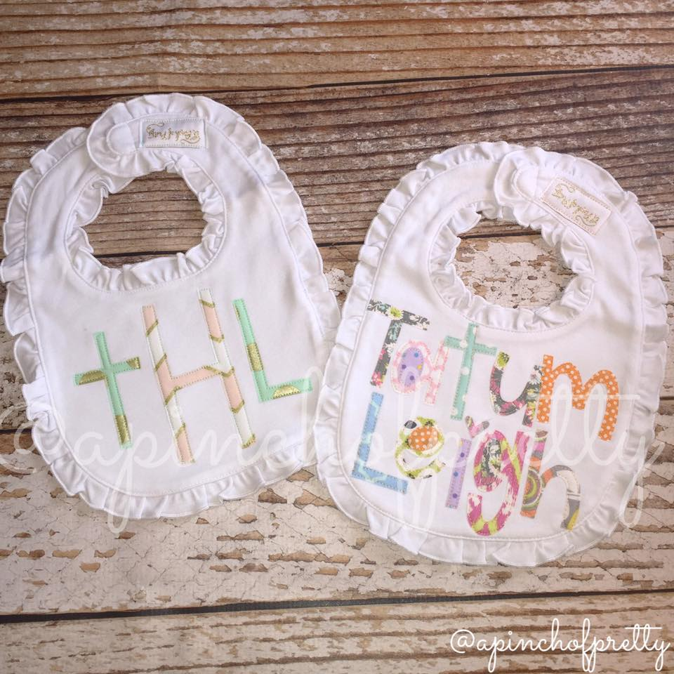 Baby Frilly Bib Complete In Specifications Baby