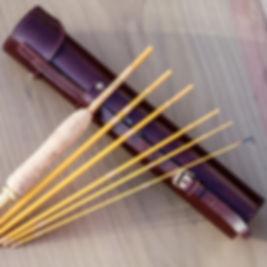 chris ward custom rods, hampshire