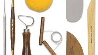 Beginning Student Kit/Clay -- wheel throwing & hand building