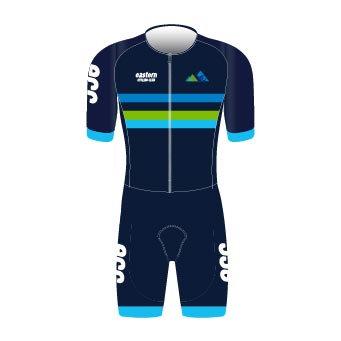 Eastern Cycling Premium Short Sleeve Skinsuit