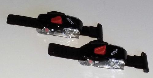 HASUS Carbon Shoe Buckles Black-Pair