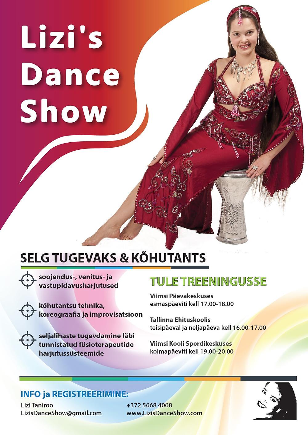 Kõhutantsu tenn - Lizi's Dance Show