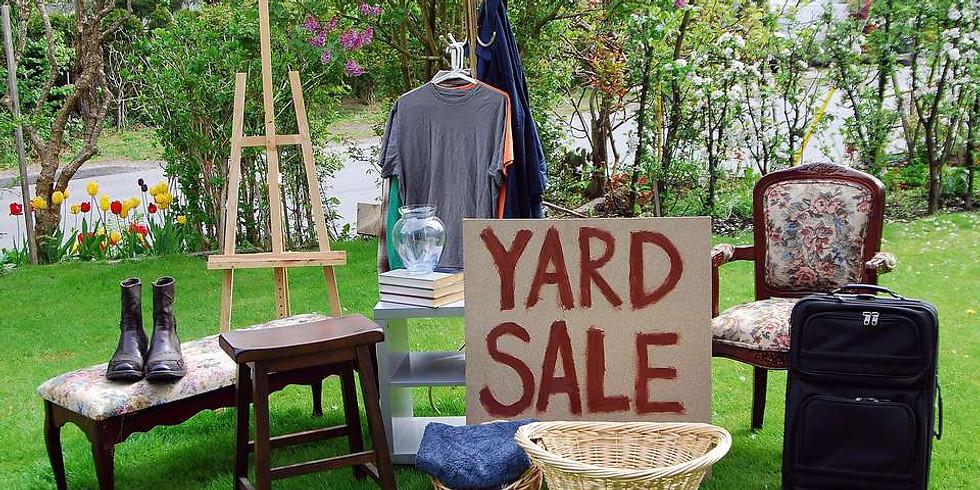 Mission Possible Yard Sale