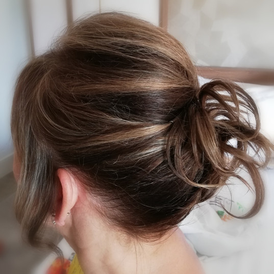 Guests bridal hair updo