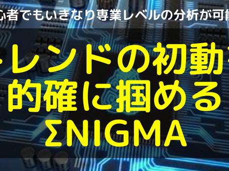 初心者でもいきなり専業レベルの分析判断が可能になったΣNIGMAシステムをつかったライブトレード