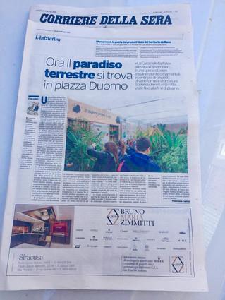 Per il Corriere della sera il paradiso terrestre si trova a Ortigia
