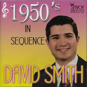 DAVID SMITH 1950'S--SAVOY MUSIC
