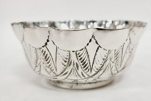 Small bowl in Portuguese silver