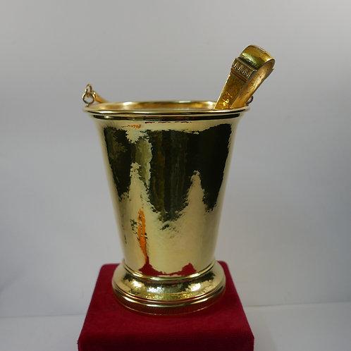 A portuguese sterling silver ice bucket / Balde de gelo em prata portuguesa
