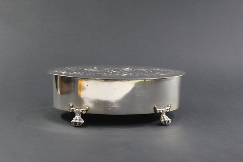 A Portuguese sterling silver Box / Caixa em prata Portuguesa