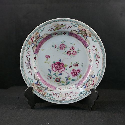 A chinese plate export porcelain / Porcelana da China Companhia das Índias