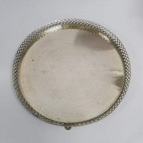 A salver portuguese sterling silver / Salva em prata portuguesa