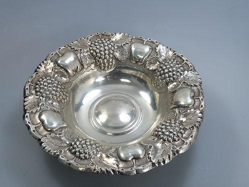 A portuguese silver bowl