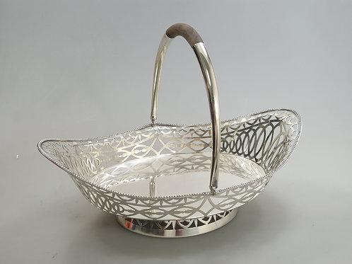 A fruit bowl portuguese silver