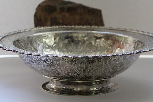 A portuguese silver bowl / Salva Funda em prata portuguesa