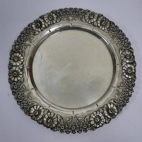 A salver portuguese sterling silver /Salva em prata portuguesa