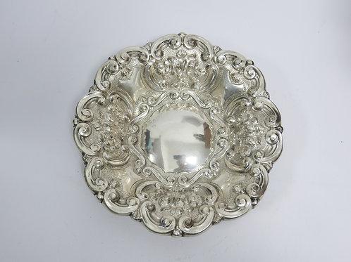 Portuguese sterling silver fruit bowl/ Fruteiro em prata portuguesa